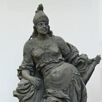 NKP Kuks - sochy Matiase Brauna v Lapidariu.
