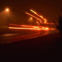 Světlušky v ulicích