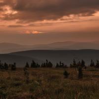 Stmívání nad horama