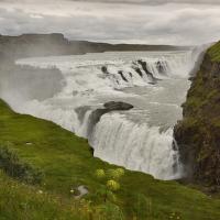 obrázky z islandské přírody 21 aneb ... Gullfos a počasí nic moc