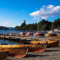 Lodky na Lake District