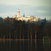 Pohled k zámku ...