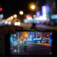 Mobilní streetfoto
