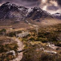 Deštivé Glencoe | Highlands