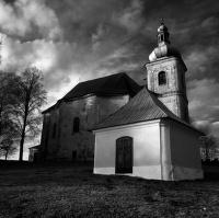kostel v Heřmánkovicích