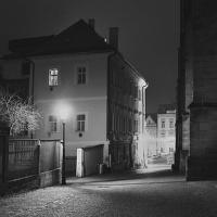Chrudimské zákoutí po setmění
