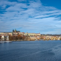 Praha - dnes ráno.