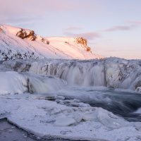 zimní Gullfoss II