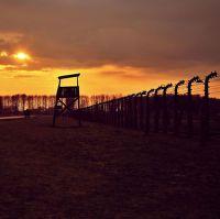 Západ slunce nad Birkenau