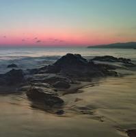 Ráno na pobřeží