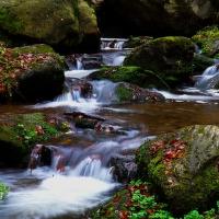 Podzimní vodopády