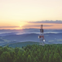 Svítání nad Kelčským Javorníkem