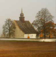 Mlhavé dopoledne u záhadné kaple, možná templářské, část 2