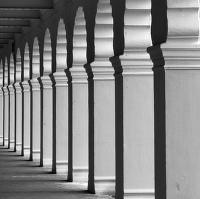 Podmanivé podloubí maisúrského paláce