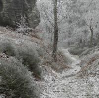 Zima ve skalách