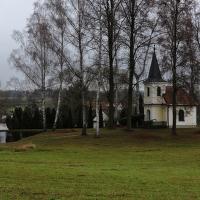 Pohled na vesničku Dolní Kněžeklady