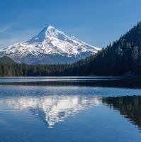 Ztracené jezero - pohled na Mt. Hood