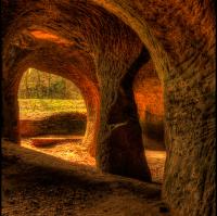 """Jeskyně """"Pusté kostely"""""""