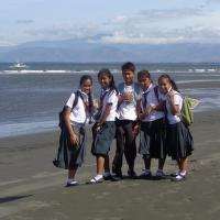 Školáci na Filipínách