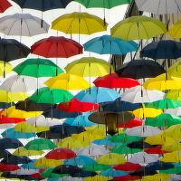 Ulice deštníků