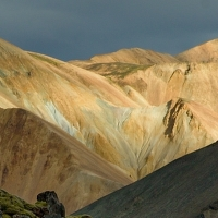 Duhové hory- Landmannalaugar,Island
