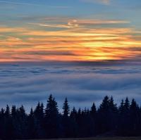 sobotní pohled z Krušných hor 3