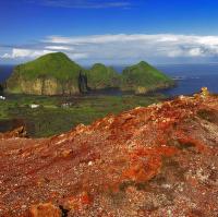 ostrov Heimaey Island