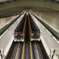 Večerní metro