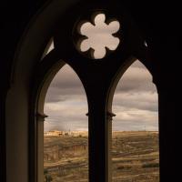 Okno v Alcazaru