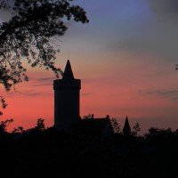 Silueta hradu Kokořín