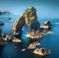 Irské pobřeží I - Skalní brána