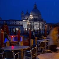 Benátky v dešti