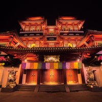 Buddha Tooth Relic Temple and Muzeum
