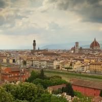 Pozdrav ze zamračené Florencie.
