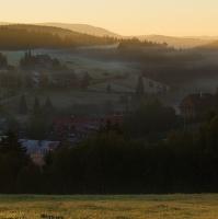 svítání na Kvildě
