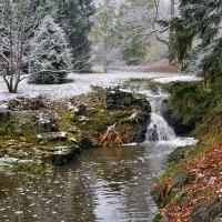 Vodopád v Průhonickém parku