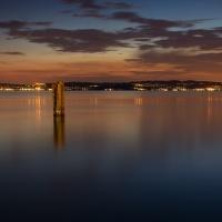 Večer u gardského jezera