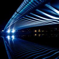 Zrcadlo Trojského mostu
