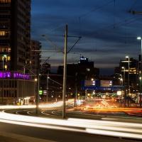 Noční Rotterdam