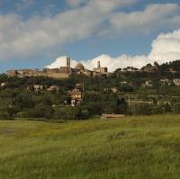Pohlednice ze San Gimignana.