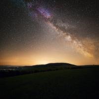 Milky Way nad Jeseníky
