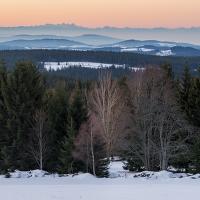 Novoroční Šumava.