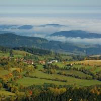 Podzimní šumavská inverze