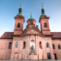 Kostel sv. Vavřince v Růžovém sadu