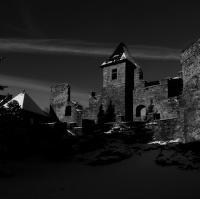 Zimní noc na Klenové