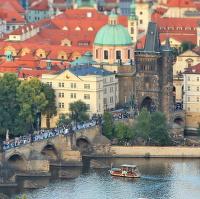 Praha miniaturna....