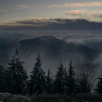 Večer na Lysé hoře