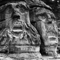 Čertovy hlavy Václava Levého