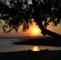 Východ nad poloostrovem Akrotiri