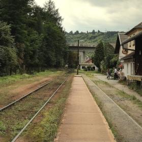 Na starém nádraží...